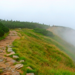 Mountain trekking and Prague