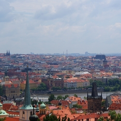 Mountain trekking and Prague